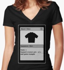 Magic Card Funny T Shirt Women's Fitted V-Neck T-Shirt