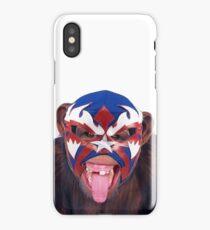lucha monkey 2 iPhone Case/Skin