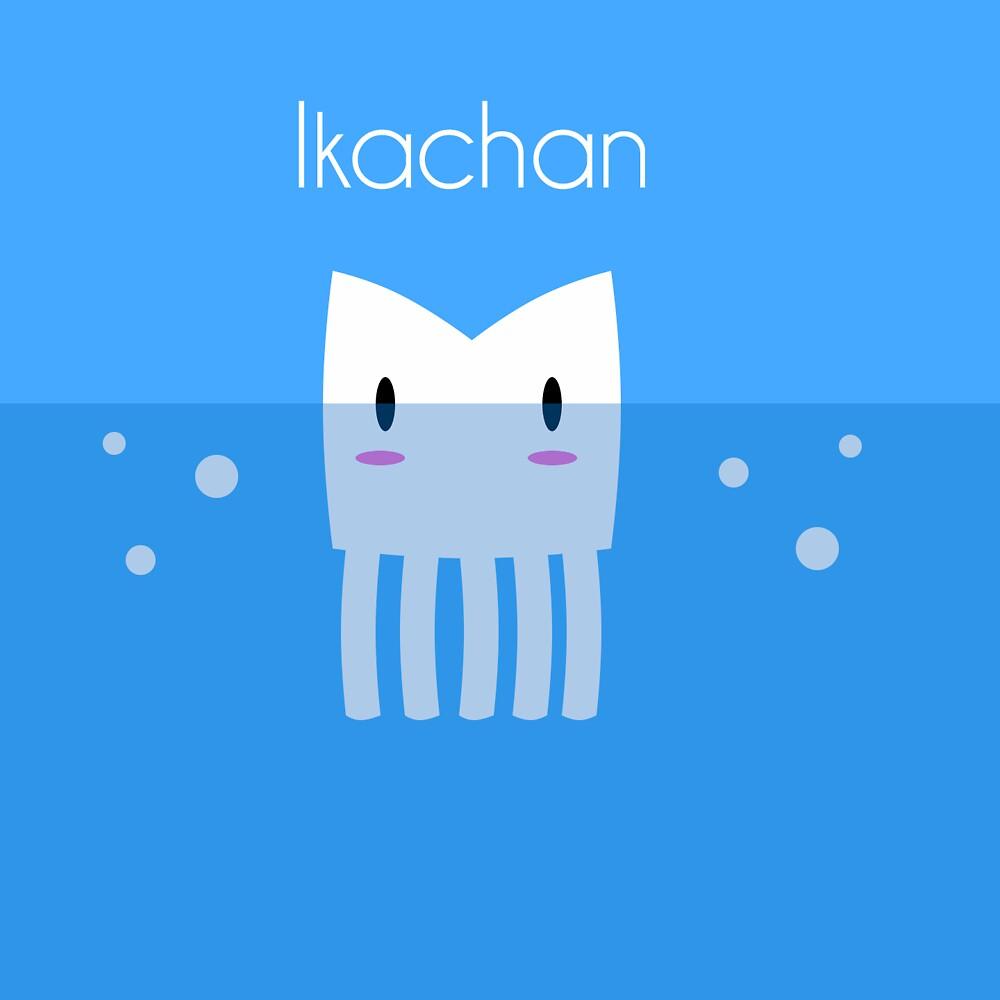 Ikachan by Tom Brown