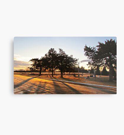 Sunrise at Springdale Metal Print