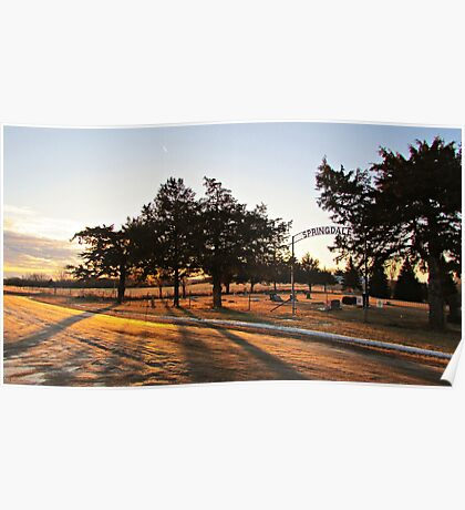 Sunrise at Springdale Poster