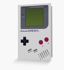 Nintendo GAME BOY Greeting Card