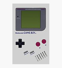 Nintendo GAME BOY Photographic Print
