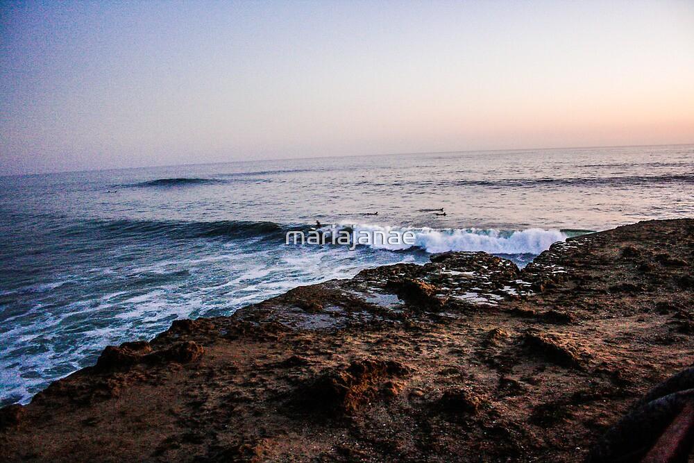 Santa Cruz Sunset by mariajanae