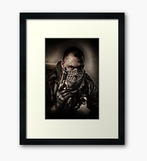 I'M JUST A SOLDIER Framed Print