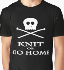 Knit or Go Home Graphic T-Shirt