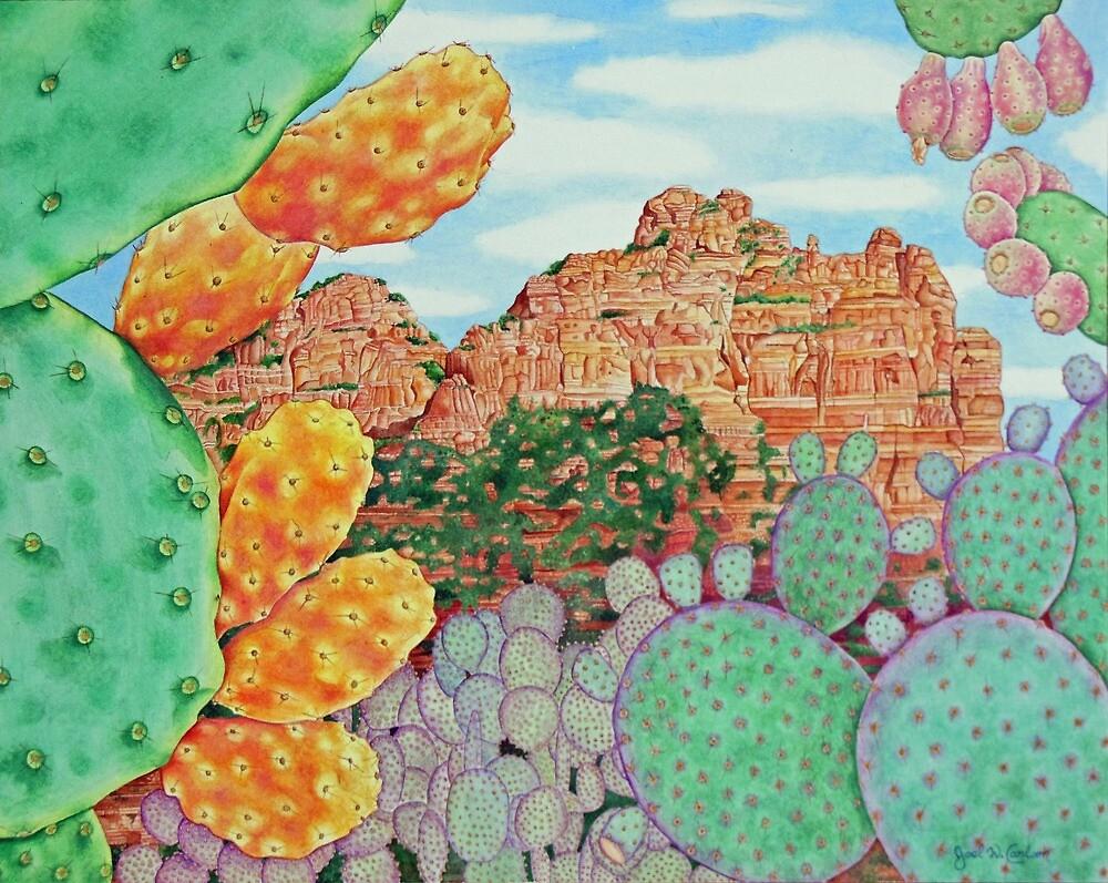 Desert Cacti by joeyartist