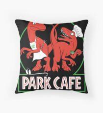Raptors in the Kitchen Throw Pillow