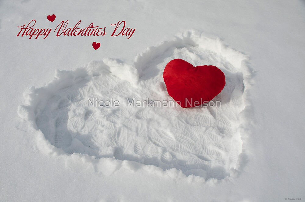 Happy Valentines Day by Nicole  Markmann Nelson