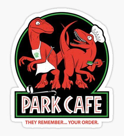 Raptors in the Kitchen Sticker