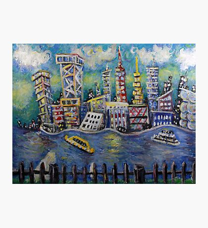 East River NYC  Photographic Print
