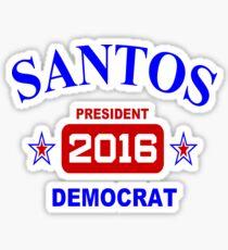 Santos for President 2016! Sticker