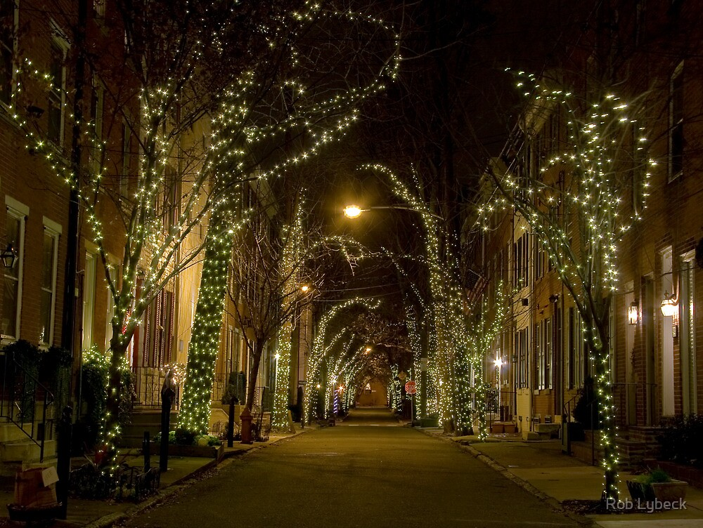 Holiday Lights by Rob Lybeck