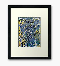Witched Trees Framed Print