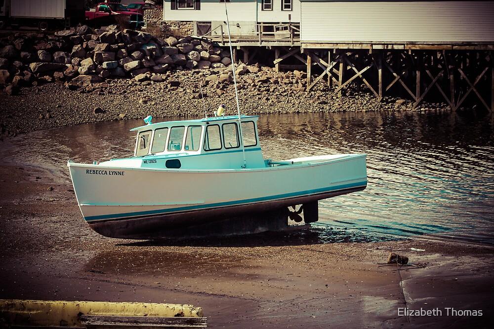 Maine Fishing Boat by Elizabeth Thomas