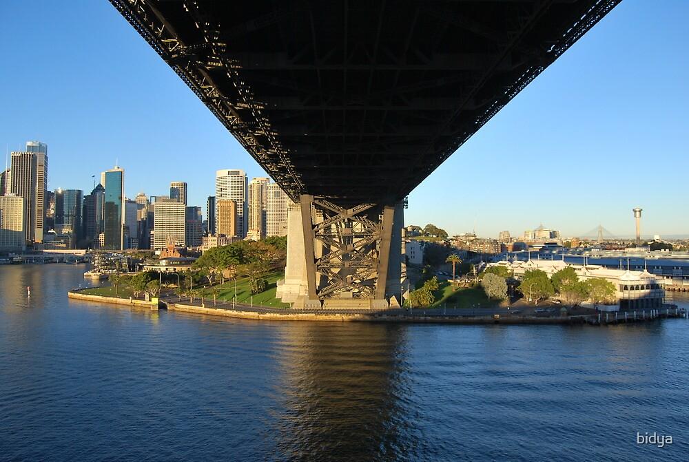 Sydney Harbour Bridge by bidya