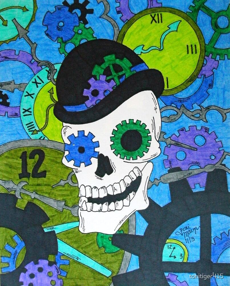 Gears Skull by tonitiger415