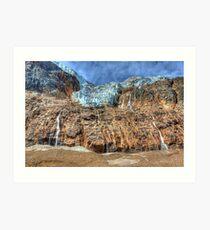 Angel Glacier Art Print