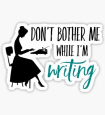 Writing Sticker