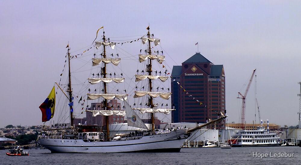 Tall Ship ARM Cuauhtemoc, Mexico by Hope Ledebur