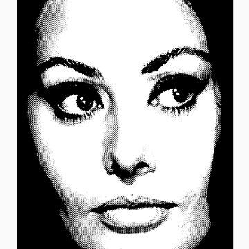 Sophia Loren by jedidiah2121