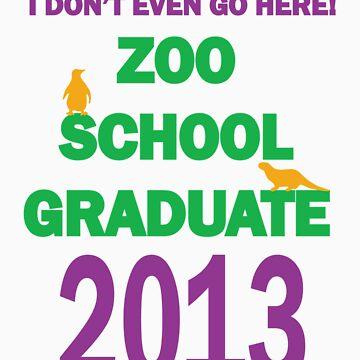 Zoo School 2013 Graduate  by Zooschooltees