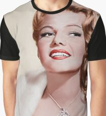 Rita Hayworth- Queen of the Pinups Graphic T-Shirt