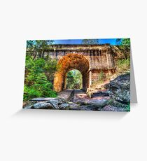 Lennox Bridge Greeting Card