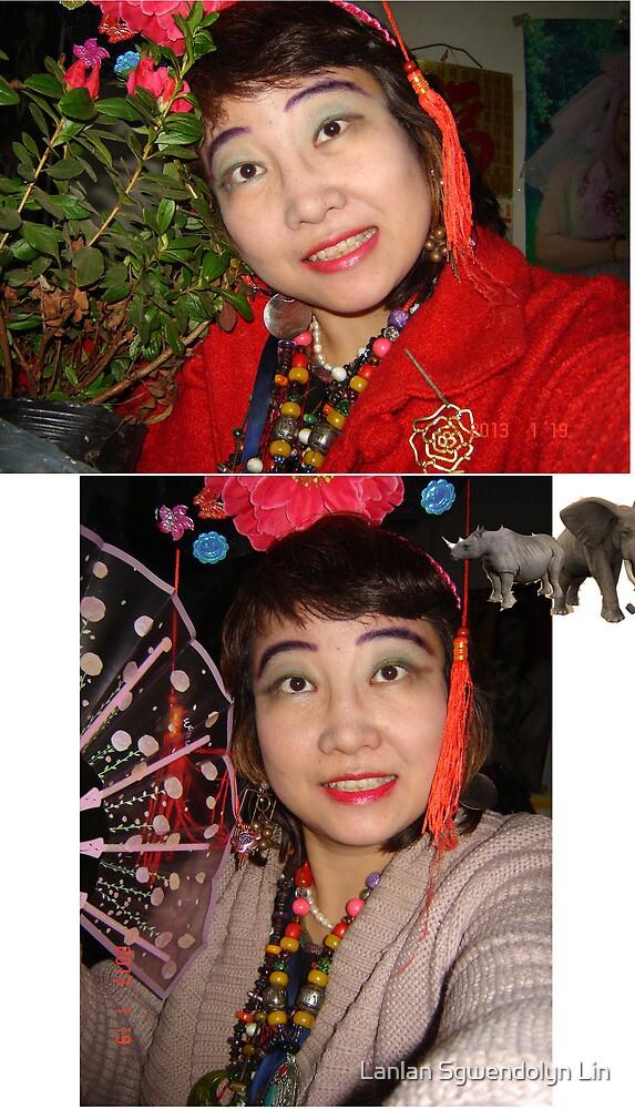 Combien que je suis beaux, heureux, content, parfait, joli, enchante, ivre, travailleur, saga, tant mieux, fier, cueillant, remarquable toujours! Merci! by Lanlan Sgwendolyn Lin