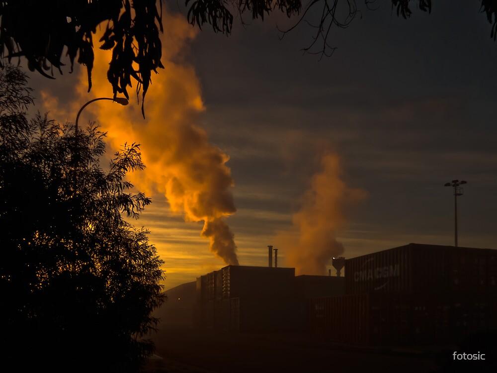 Industrial Sunrise by fotosic
