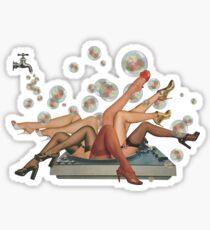Spun Sticker