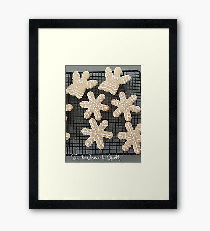 'Tis the Season to Sparkle Framed Print