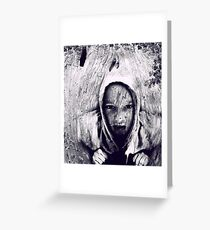 Hood Greeting Card