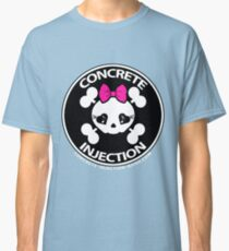 concrete injection baby doll standard logo Classic T-Shirt