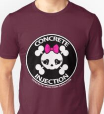 concrete injection baby doll standard logo T-Shirt