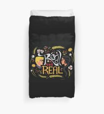 Real Or Not Real Duvet Cover