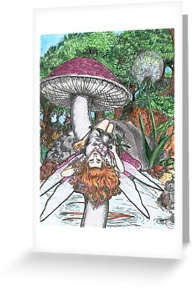 Mushroom Fairy by David Webb