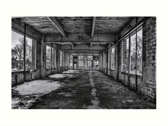 Abandonded and Empty by Trevor Kersley