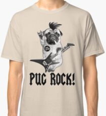 Camiseta clásica PUG ROCK