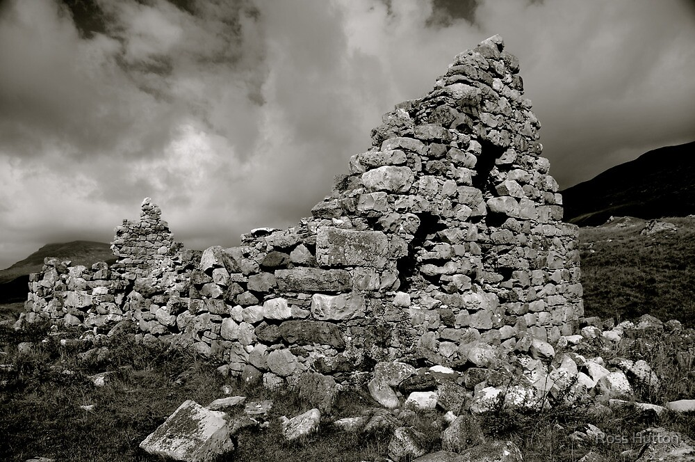 Ruined Croft by Ross Hutton
