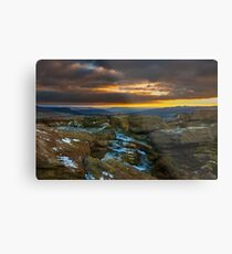 Were The Earth Meets The Sky Metal Print