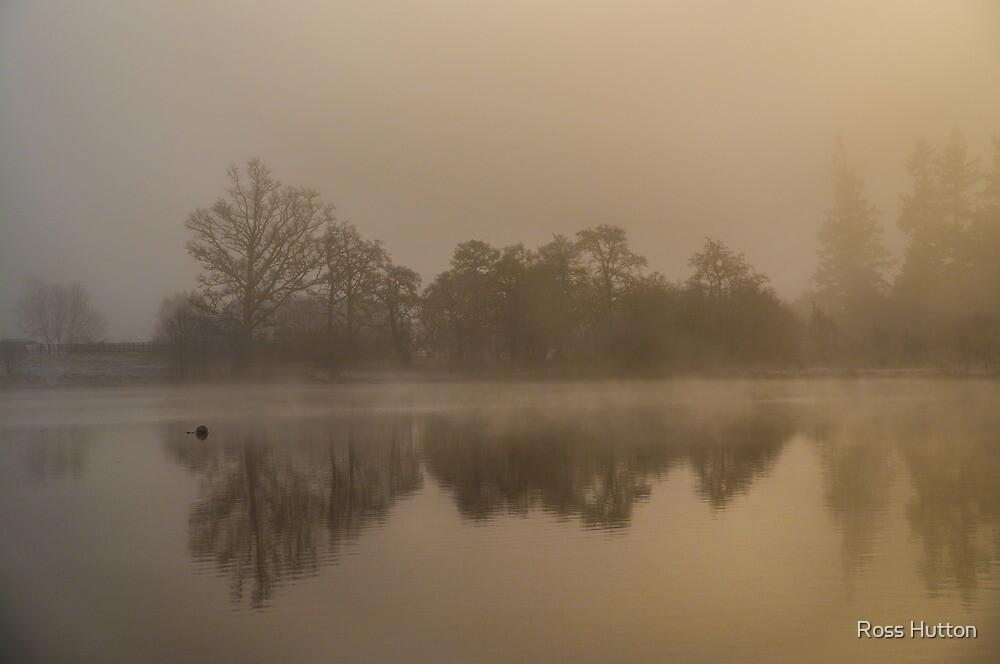 Mist on Loch Ness by Ross Hutton