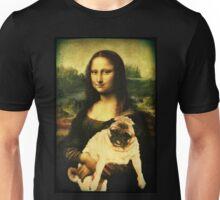 MONA LISA PUG Unisex T-Shirt