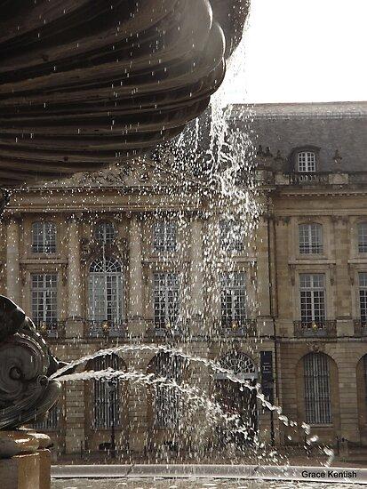 Bordeaux fountain by graceloves
