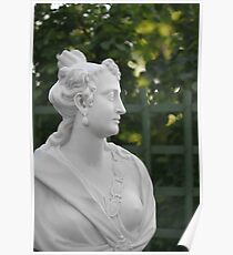 Marie Fournier wife of the Emperor Titus Poster