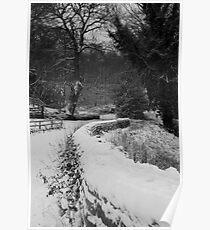 A Winter Yorkshire Wonderland Poster