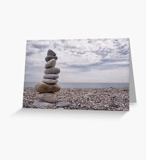 Getting Your Zen On at Rapid Bay, South Australia Greeting Card