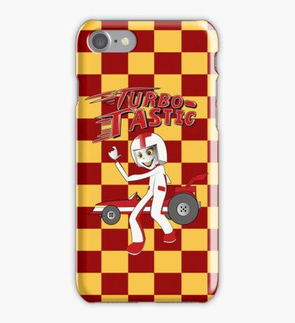 GO Turbo Racer GO!! iPhone Case/Skin