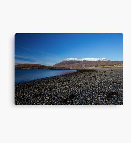 Ardmair Point, Ullapool Canvas Print