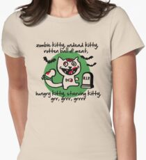 zombie kitty, undead kitty, rotten ball of meat... T-Shirt